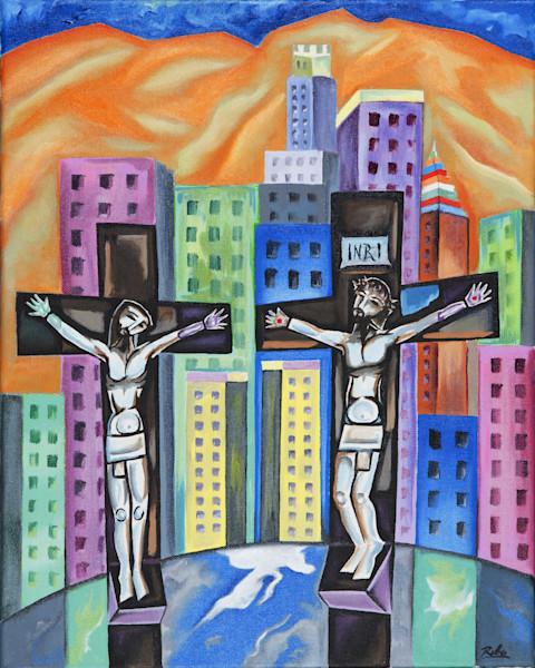 """The Crossroads"" by Humbeerto Rebollo   Prophetics Gallery"