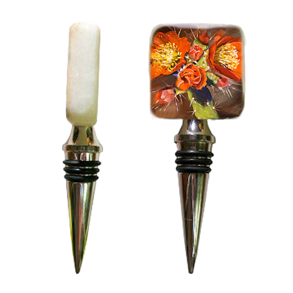 Arizona Rose Wine Stopper | Tucson Arizona Gifts