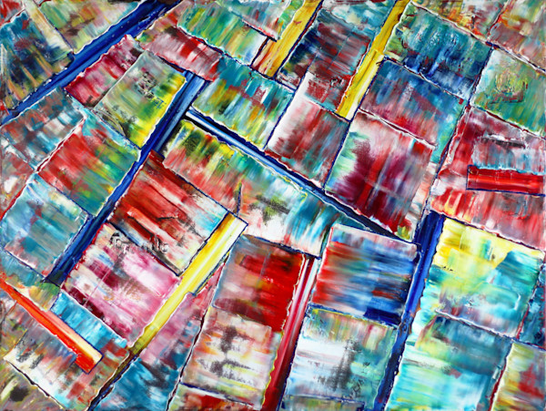 Fragmented PMS original painting