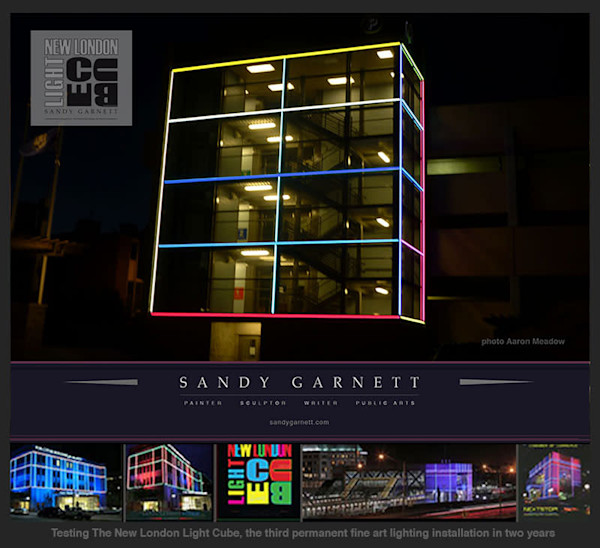 New London Light Cube