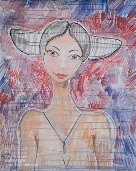 Enchanted Garnett Girl