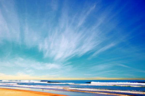 Beautiful Morning - digital painting photograph
