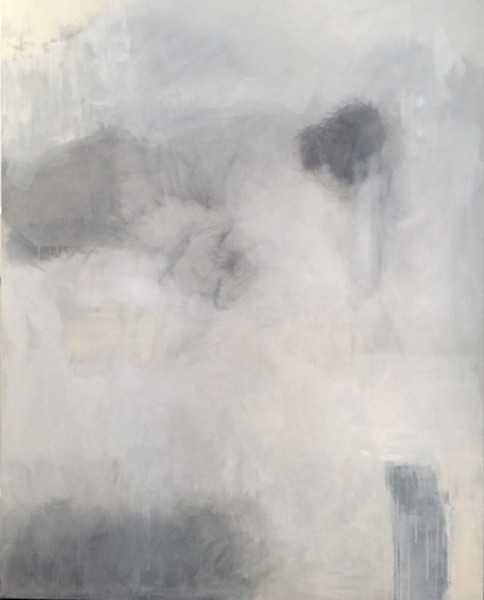 Mood in Space by Linda Simopoulos | SavvyArt Market original painting