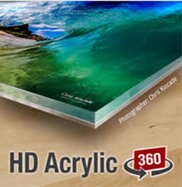 20% OFF!  - 12X18 HD Acrylic 360- $̶1̶2̶7̶