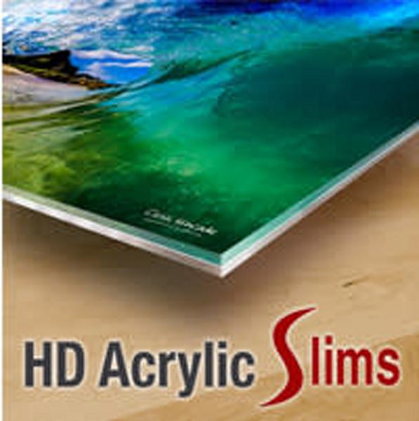 20% OFF!  - 12X18 HD Acrylic Slim- $̶1̶2̶7̶