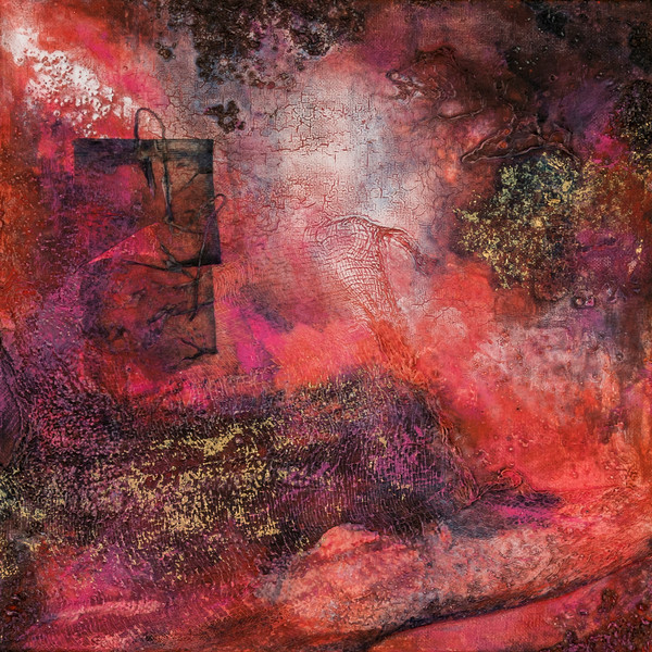Cosmic Fire 1 | Paintings by Lucy Ghelfi | For Sale