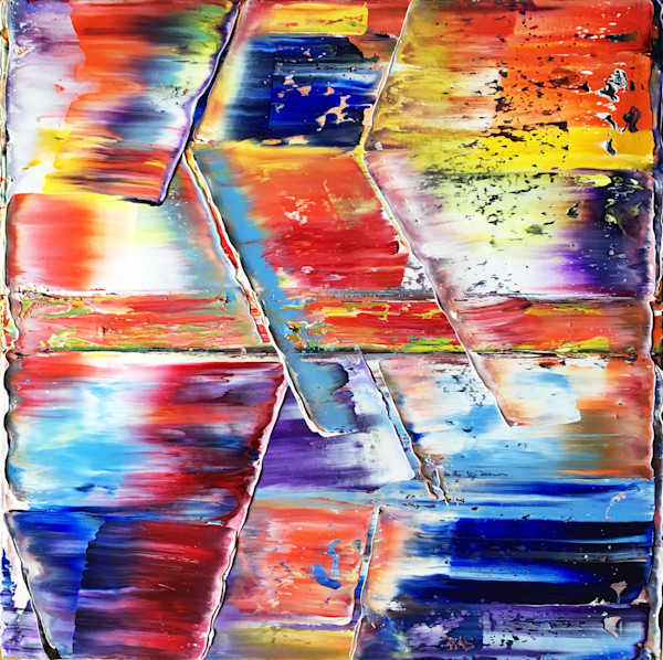 Surprise! original PMS abstract painting