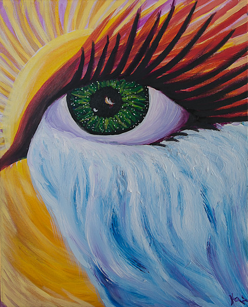 """""""Arise, Shine, Open Your Eyes"""" by Kimberly Hogan 