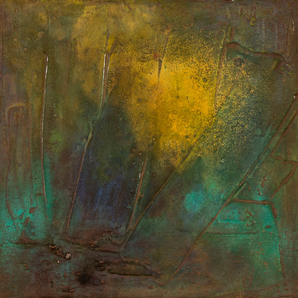 Muddy Delta 2 | Abstract Paintings by Lucy Ghelfi | For Sale