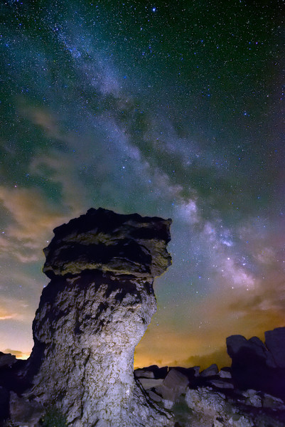 Mushroom Milky Way