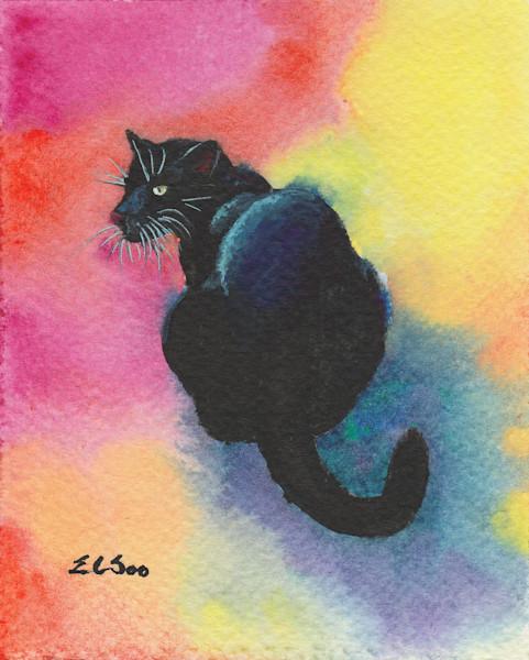 A Black Cat Named Midnight