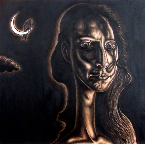 The Night Watch surrealist painting