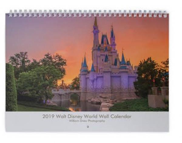 Walt Disney World 2019 Calendar | William Drew Photography