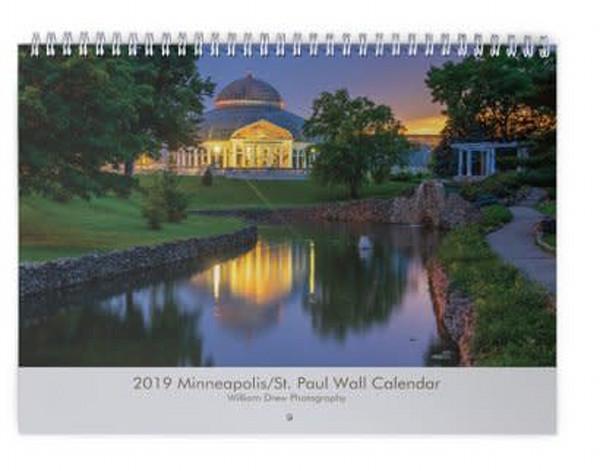Minneapolis/St. Paul 2019 Wall Calendar - Free Shipping
