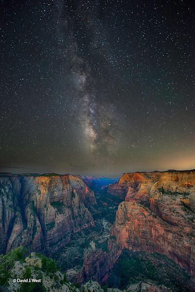 Zion Milkyway-Fine Art photograph-Zion National Park