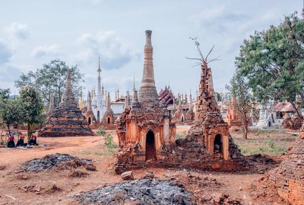 Three of Shwe Indein