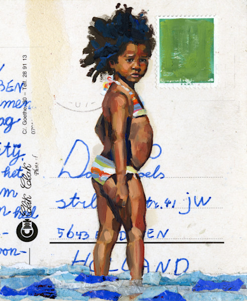Painting of a Caribbean Girl