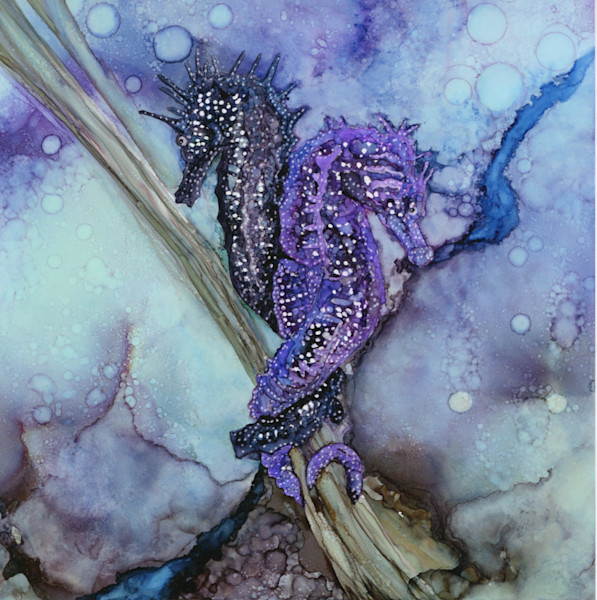 Ocean life paintings and art prints for sale by Heidi Stavinga