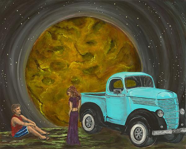 Around and Around we go, fine art print by Cat A, Catherine Janke.