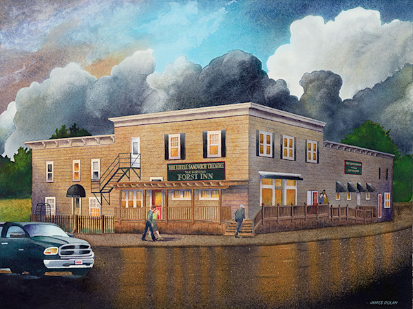 Forst Inn fine art print by Jim Dolan.
