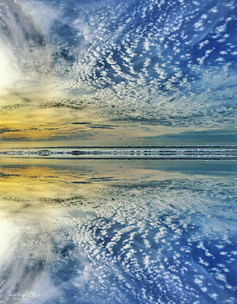 """""""From Sea to Sea..."""" - digital painting photograph"""