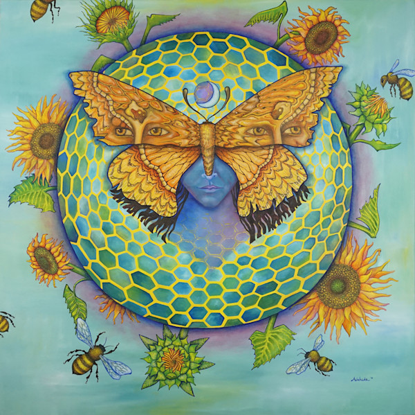 Visionary Art by Adelaide Marcus