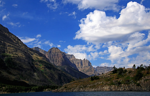 Dynamic View of Glacier National Park