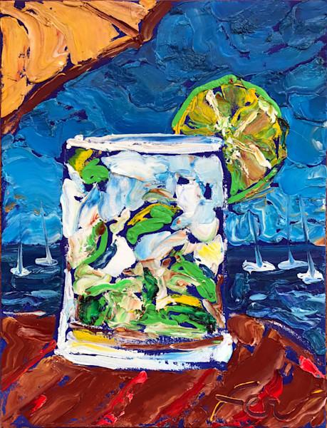 Drinks at the beach - CAIPIRINHA