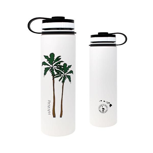 Hawaii Palm Trees Flask