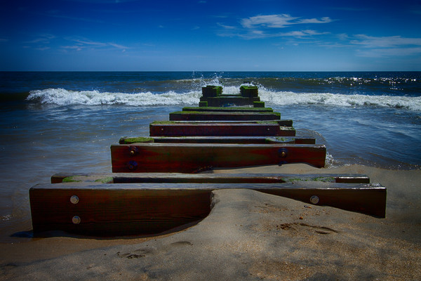 A Fine Art Photograph of Romantic Shores in Rehoboth Beach by Michael Pucciarelli