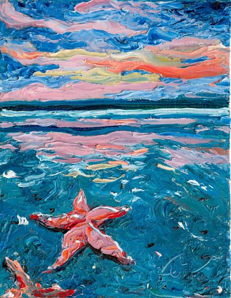 Starfish at Folly Beach