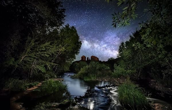 Midnight Over Oak Creek