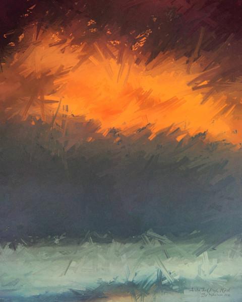 """Doors of Heaven"" - digital painting photograph"
