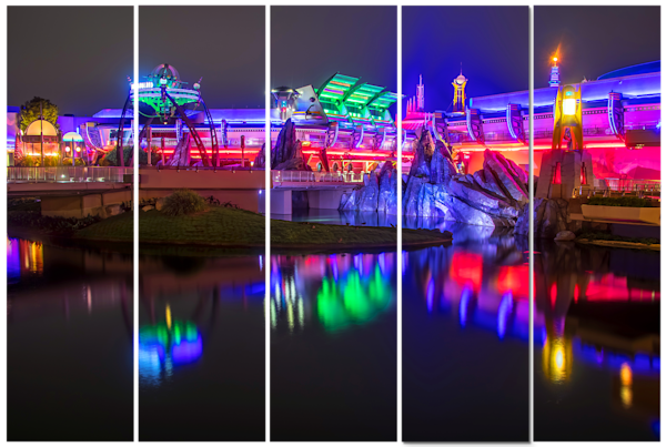 Disney Canvas Art - Reflections of Tomorrowland | William Drew