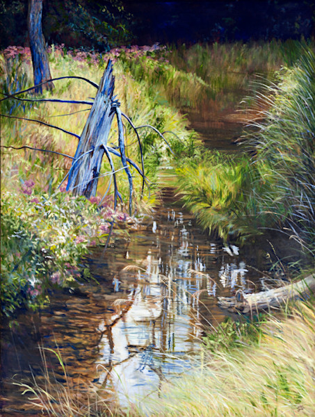Cathy Groulx Art featured on SavvyArt Market