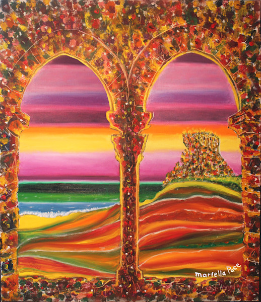 """Castle Arches"" by Mariella Pace 