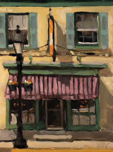 Firecracker Bar and Grill Original Painting