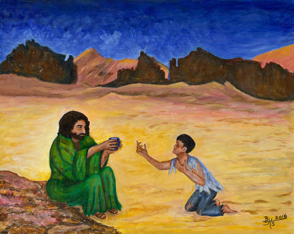 """""""Thirst Quencher"""" by Bettye Stanley 