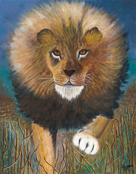 """""""The King is Coming"""" by Bettye Stanley 