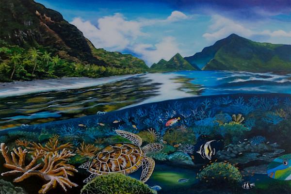 Polynesian Art | Ofu Beach AS by Mark Faulkner