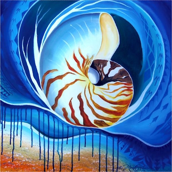 Polynesian Art | Nautilus by Mark Faulkner