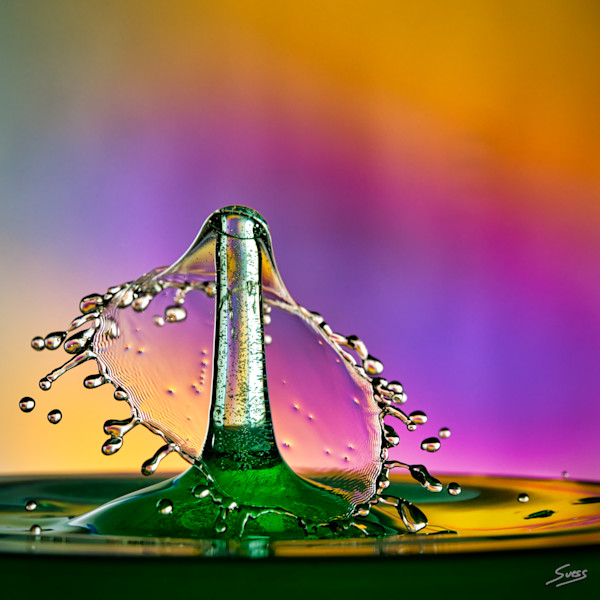 Water Drop Collision Untitled #516