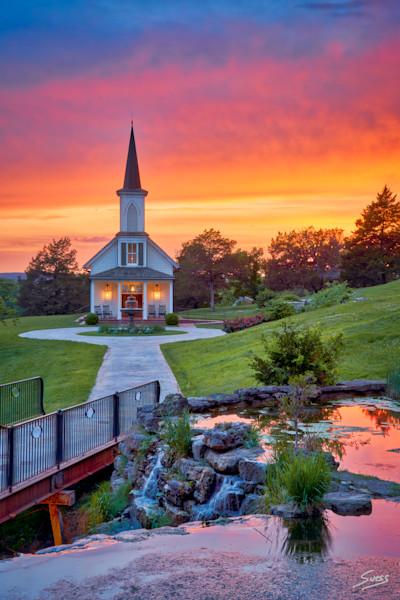Epic Sunset at The Garden Chapel #2 - Big Cedar Lodge