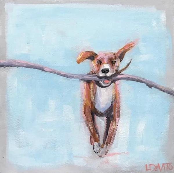 Animal-originals by lesli devito paintings