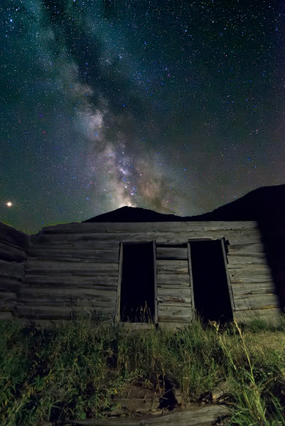 NIght in a Ghost Town