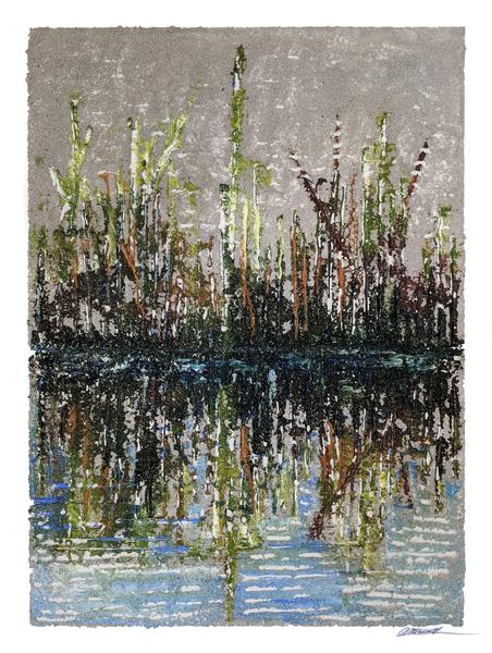 """""""Swamp"""" 36x48 . $2,400"""