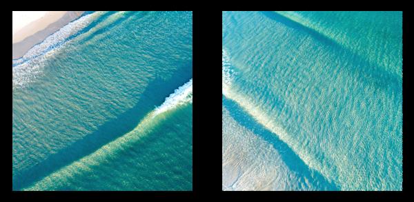 Turquoise Breaker Study No. 1 & 2 Photography Art | Jonah Allen Studio