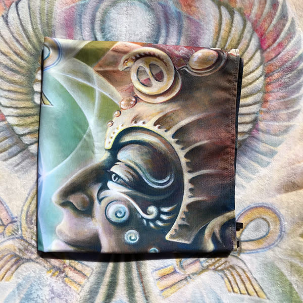 The One Eye Love - Visionary Art Tapestry by Ishka Lha