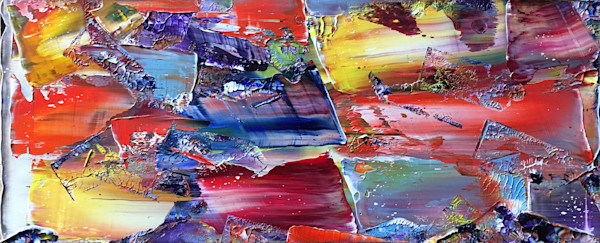 Falling In Love abstract painting