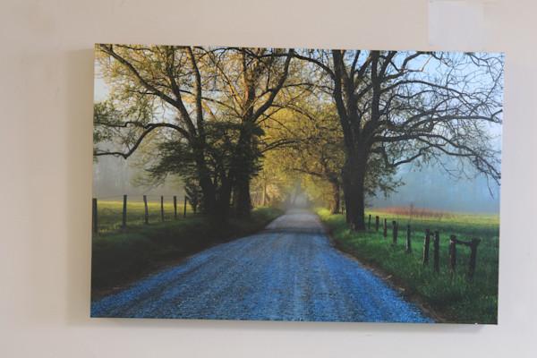 Sunrise at Sparks Lane  Canvas Wrap